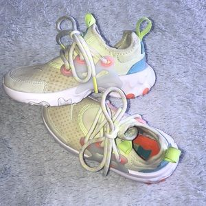 Toddler multicolored nikes